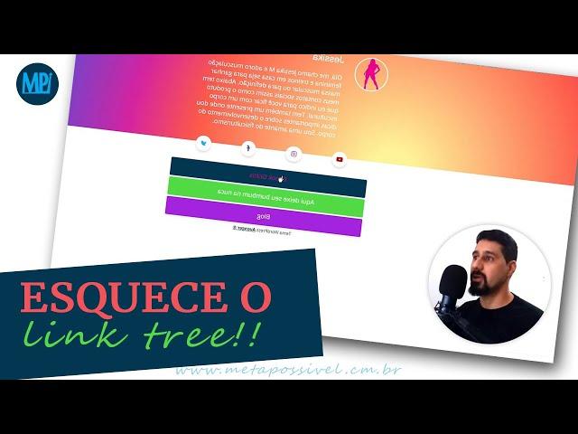 → Tema WP Avenger: Como Criar Uma Página Melhor Que a Link Tree No Seu Site Wordpress