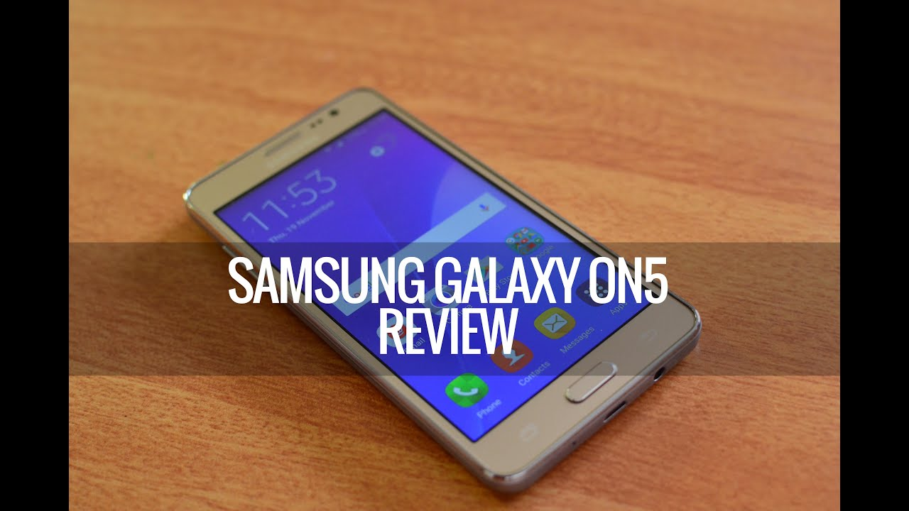 Samsung Galaxy On5 (4G) Review