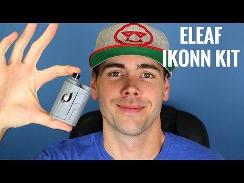 Eleaf iKonn Total w/ Ello Tank | Single 18650 Stealth Setup From Eleaf!