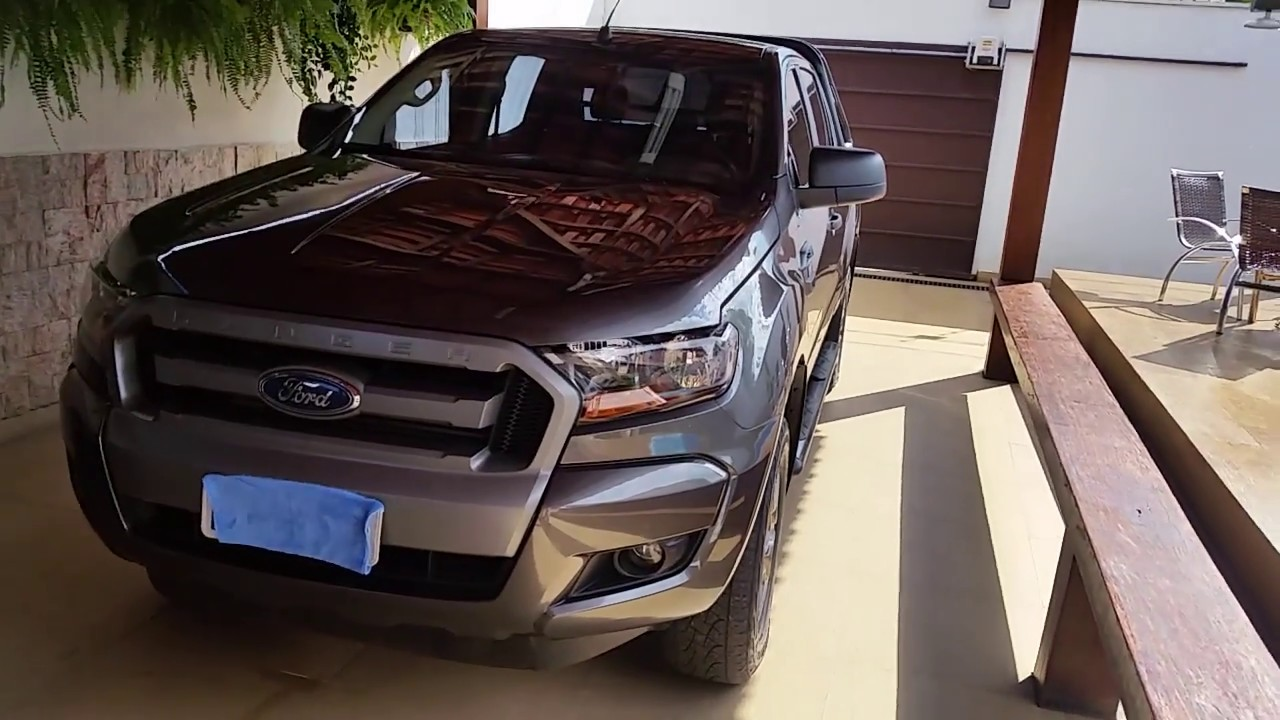 Ford Ranger 2017 >> Nova Ranger XLS 2.2 AT 4x4 2017 após 50 mil km. - YouTube