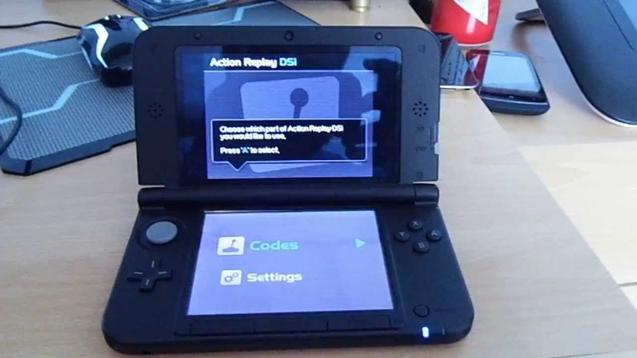 How to get the action replay to work on 3ds xl youtube.