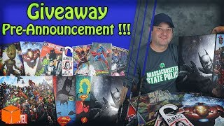 🔶 Giveaway Pre-Announcement !!! Marvel, Dc, Batman, Superman, Iron man And More !!!