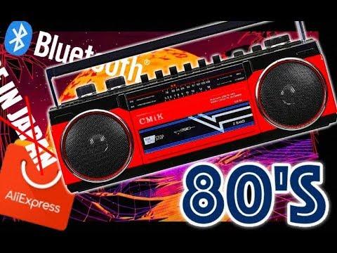 Bluetooth магнитофон с AliExpress CMiK MK-132BT / Cassette Mp3 Tape Recorder Boombox
