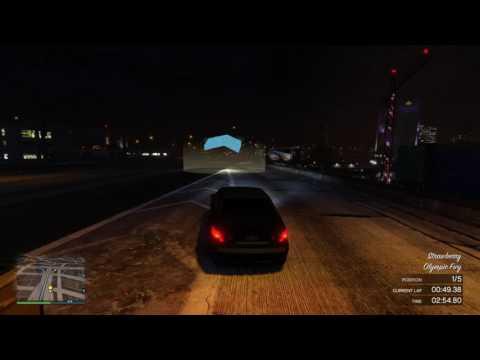 GTA Online PS4 - MARIOS RACE ft. Chey, Hendo & BigBear. Armoured Schafter V12