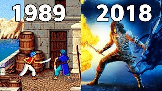 Evolution of prince of persia Games 1989-2018 [Gaming Tadka]