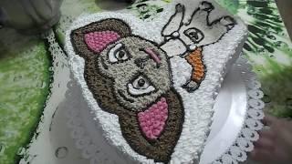 Украшение детского тортика/Малыш  Барбоскин.