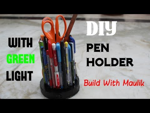 how-to-make-a-pen-holder-from-scrap-materials