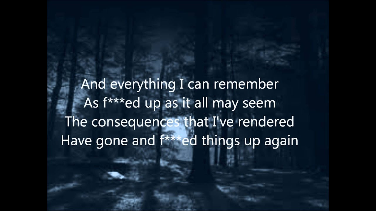 Staind It's been awhile lyrics (Clean version) - YouTube