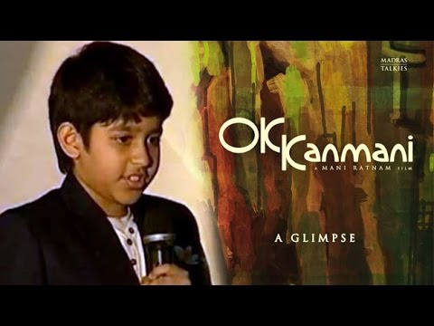 A. R. Rahman's Son Ameen Sings For OK Kanmani