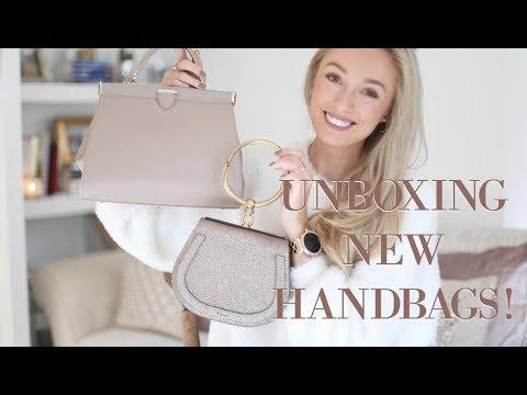 Unboxing Three New Designer Bags // Aspinal of London, Radley & Chloe // Fashion Mumblr