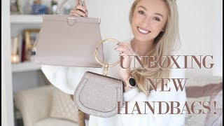 Unboxing Three New Designer Bags // Aspinal of London, Radley & Chloe // Fashion Mumblr