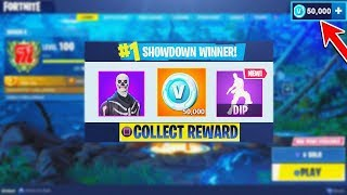 Esta criança ganhou 50.000 FREE V-BUCKS em Fortnite SOLO SHOWDOWN! (Battle Royale do Fortnite)