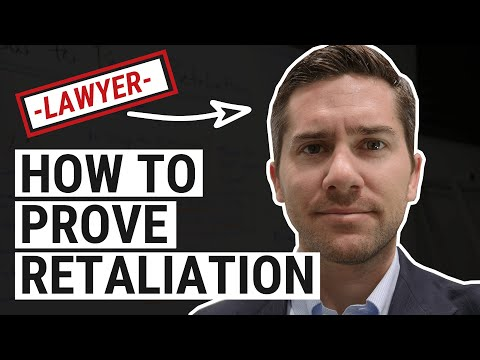 How To Prove Retaliation At Work