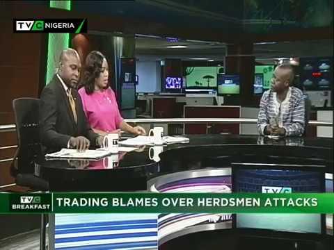 TVC Breakfast 25th April, 2018 | Trading Blames on Herdsmen Attacks