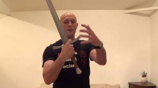 How to grip the medieval longsword, Part 1 (Historical Fencing)