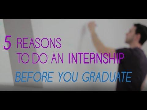 5 reasons to do an internship before graduating