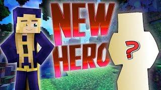 Minecraft : Who is the New Superhero?  Hello neighbor Captures Batman