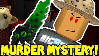 Roblox   MURDER MYSTERY   EVIL MURDERER PRANK!!