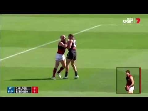 Paul Chapman vs Chris Yarran fight: AFL fan commentary