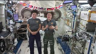 Expedition 61 Crew News Conference with Jessica Meir and Christina Koch - October 21, 2019