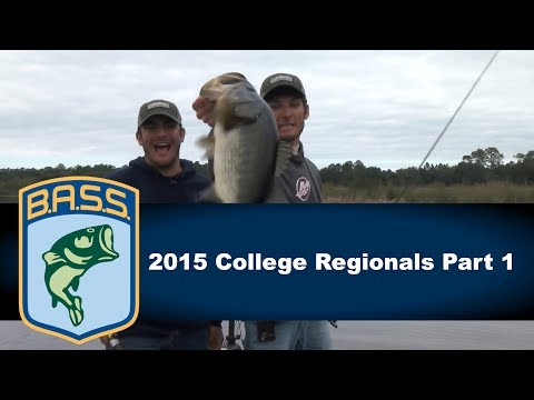 2015 College Bass Regionals Part 1