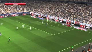 PES 2014 - France vs Italy Gameplay (HD 1080p)
