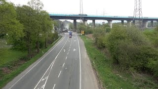 Vollsperrung der Verbandsstraße vom 21. bis 8. Mai – Bagger auf der Lennetalbrücke A45