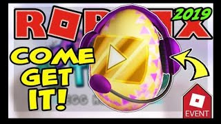 [EVENT] How to get VIDEO STAR EGG | Egg Hunt 2019 | Roblox - Đ Gaming