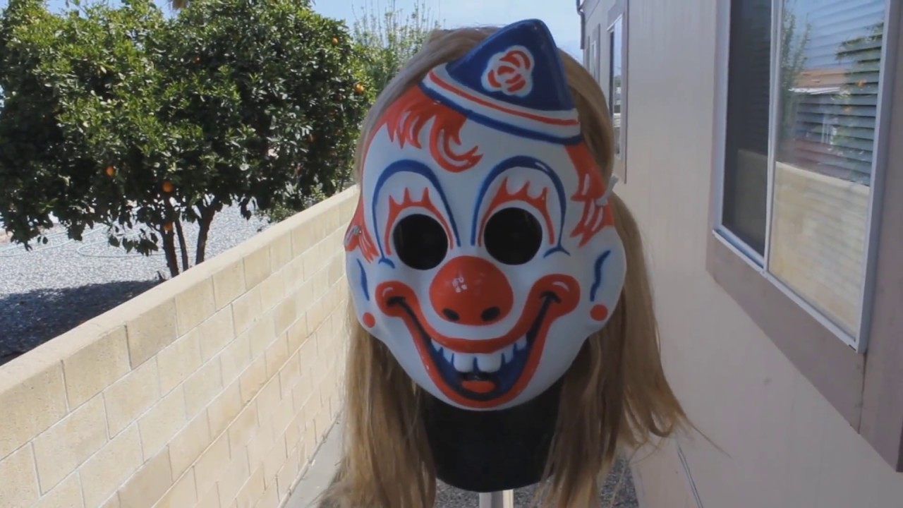 Rob Zombie Halloween Clown Mask.Young Mikey Clown Mask