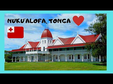 TONGA, bus ride to the beautiful city of Nuku'alofa in TONGATAPU