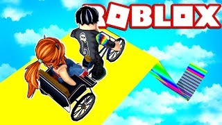BIKE LEAP OF +9999.9999.9999 METERS in ROBLOX (Happy Wheels) 😱