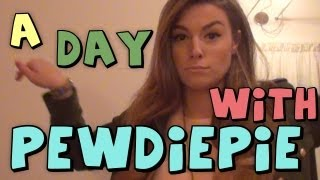 A Day With Pewdiepie! (vlog)