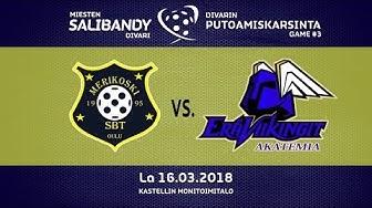 Maalikooste: Merikoski vs. EV Akatemia [GAME#3] (16.3.2019)