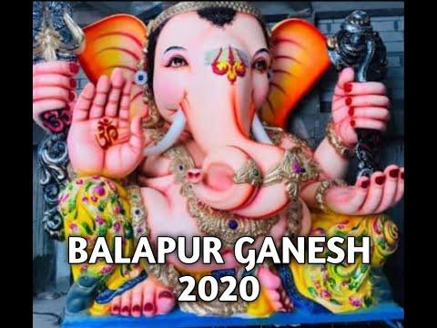 Balapur Ganesh 2020 idol part 16 - YouTube