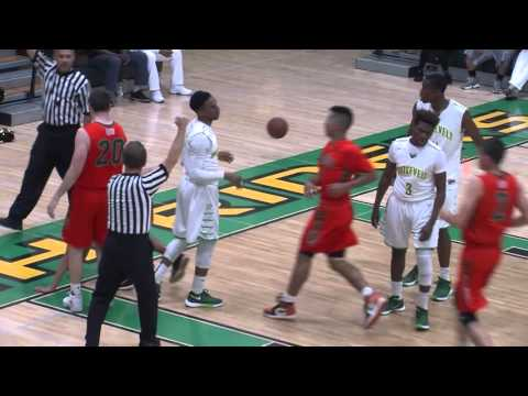 Roosevelt High School vs Porterville Semi-Final Basketball Game