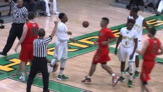 roosevelt high school vs porterville semi final basketball game