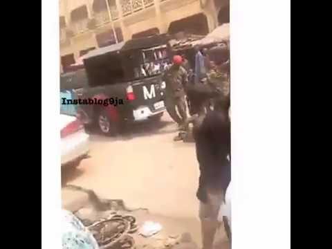 Soldiers Brutalise Crippled Man For Wearing Military Uniform