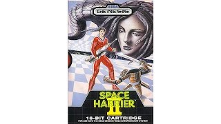 Space Harrier II Review for the SEGA Genesis