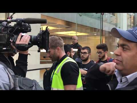 iPhone 8 line launch event Sydney Apple Store - Friday 22 September Australia
