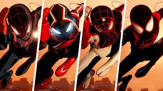 Spider-Man: Miles Morales - Ending w/All Suits