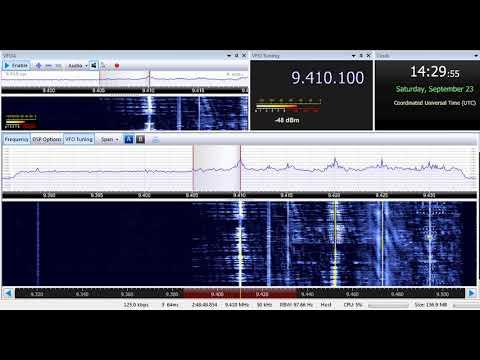 23 09 2017 Trans World Radio India in English to SoAs 1429 on 9410 Yerevan