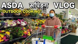 ASDA सपिङ्ग *Hamro DAY OFF*   Nepali Vlog   NICK & ROSIE