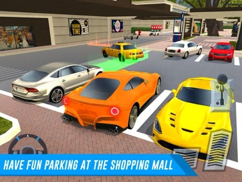 Shopping Centre Car Parking Truck Delivery Driver iOS Gameplay