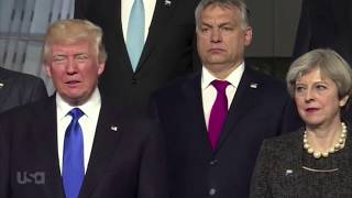 | !Spoiler! | Donald Trump, Viktor Orban and Theresa May in Mr.Robot_S03E01