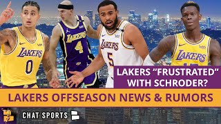 Lakers Frustrated With Dennis Schroder? Rob Pelinka Wants To Keep Talen Horton-Tucker & Alex Caruso?