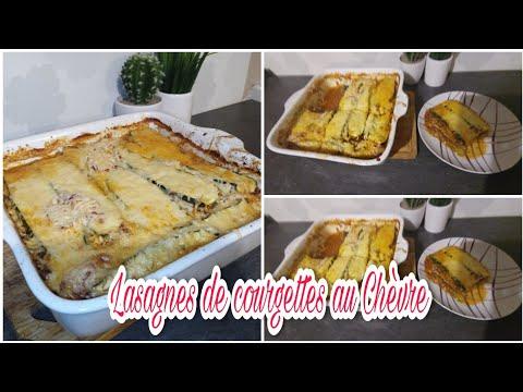 💕-recette-lasagnes-de-courgettes-au-chèvre-//-recette-facile