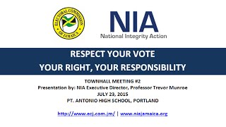 NIA-ECJ 'Respect Your Vote' Town Hall Meeting in Portland (Pt. 3)