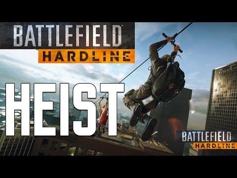 Battlefield Hardline: Heist Gameplay