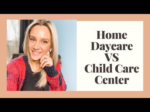 Home Daycare VS Child Care Center