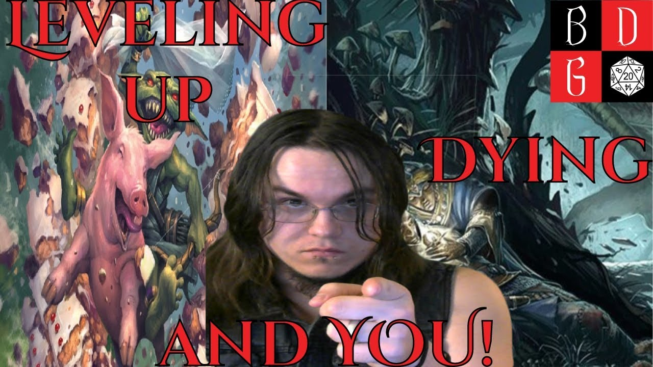 Pathfinder Second Edition Playtest Update Leveling Up Dying And You